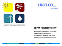 COPRA FOR ELECTRICITY